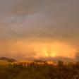 Academy Villas gold sunset